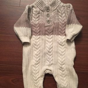 Baby GAP cable knit one piece